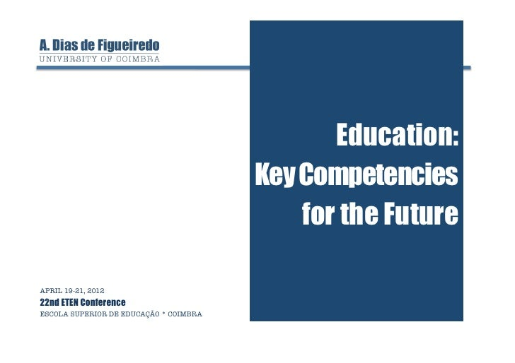 Education:                                         Key Competencies                                             for the Fu...