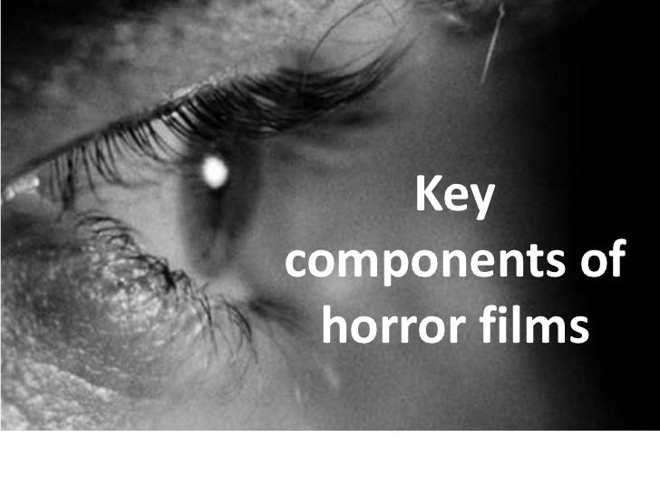 Typical Characteristics of a Horror Movie