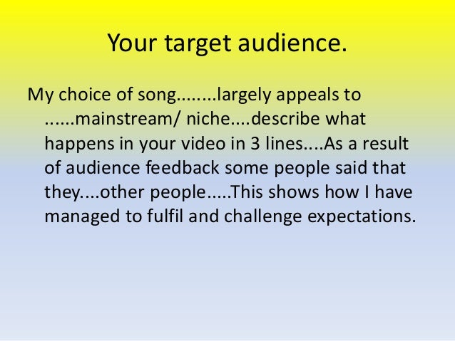audience expectations essay How genre conventions are used to raise audience outlooks in horror film dawdlers 'the word genre means 'type' or 'category'' ( teach yourself movie surveies ) it is truly of import as an audience member to recognize genres as so things become categorized and easier for them to understand which is more cheering.
