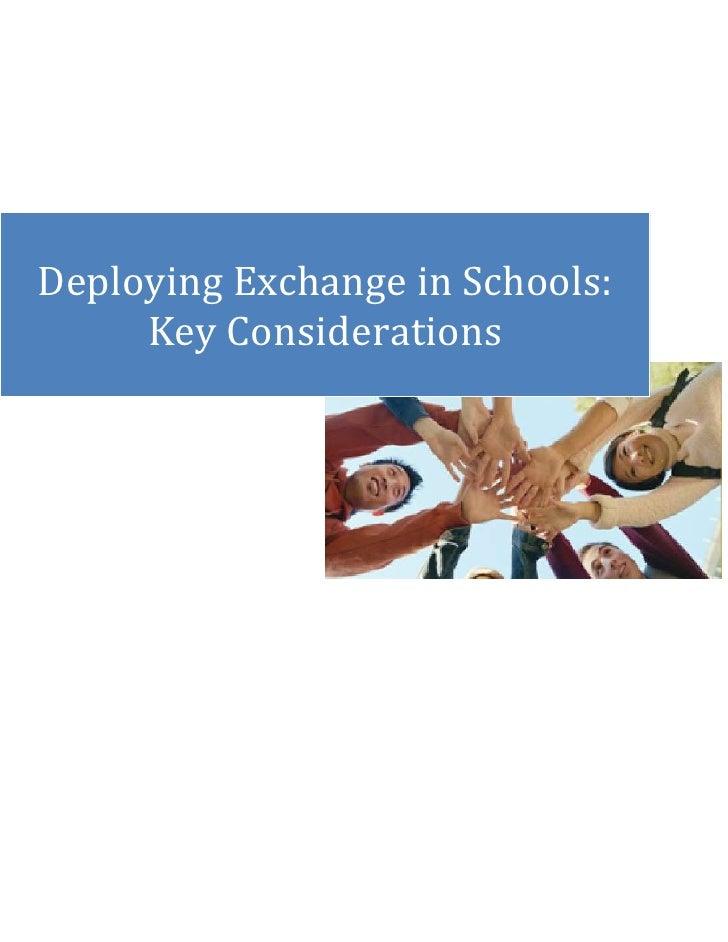 left2266950Deploying Exchange in Schools: Key Considerations00Deploying Exchange in Schools: Key ConsiderationsrighttopRox...