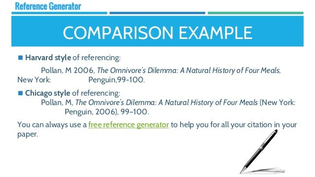 harvard style referencing template - key differences between referencing styles