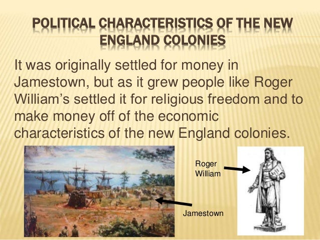 Colonial Major Projects : Key economic political and social characteristics of the