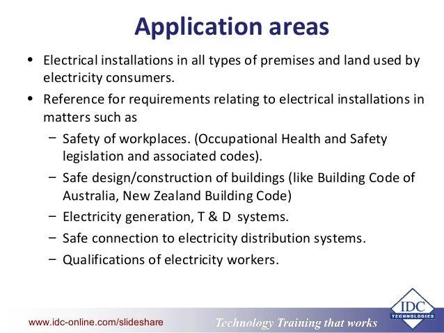 key elements of australian wiring standards rh slideshare net australian wiring standards download australian wiring regulations book