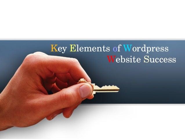 KeyElementsofWordpress WebsiteSuccess