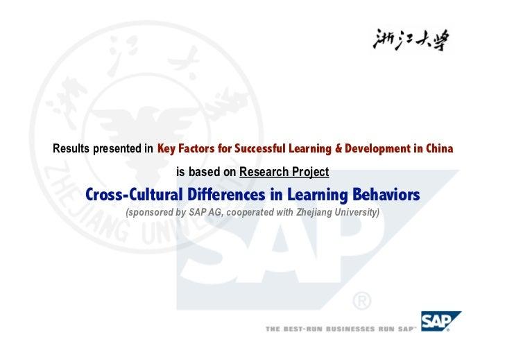 Key factors in youth development