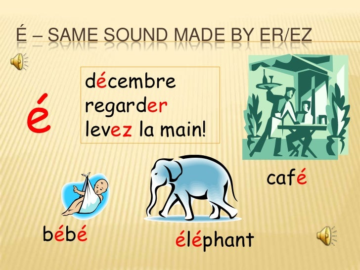 Key french sounds & spellings