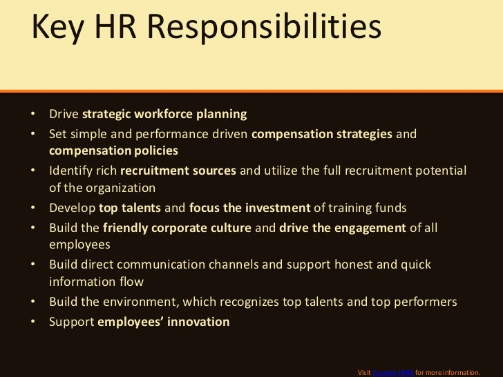 what is the role and responsibility A job description establishes expectations and performance benchmarks begin writing roles and responsibilities by creating an outline that identifies and prioritizes duties of the position know that prospective employees will use this information when deciding whether to apply new hires will rely on the.