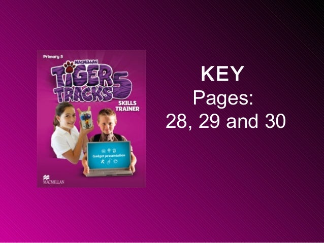 KEY Pages: 28, 29 and 30