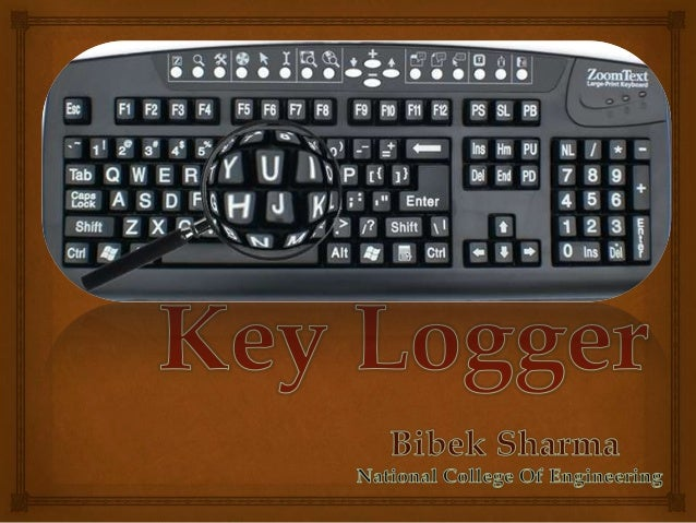   Introduction  Why?  Types  Detection and Preventaion  How Keylogger protect Itself from user? Today We'll discuss