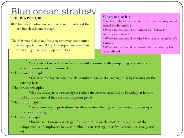 STRATEGIC MODELS Ansoff's product / market grid  The BCG matrix  Blue ocean strategy Competitive Analysis : Porter's f...