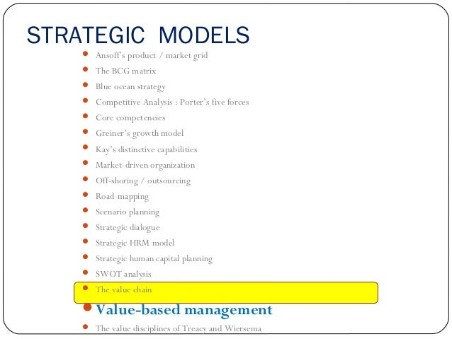 Tactical Model The 7-S framework  Activity-based costing  Beer and Nohria – E and O theories  Benchmarking  Business ...