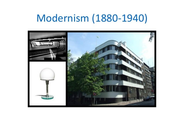 Modernist design movement