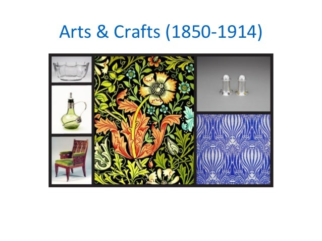 Industrial Revolution Arts And Crafts Movement