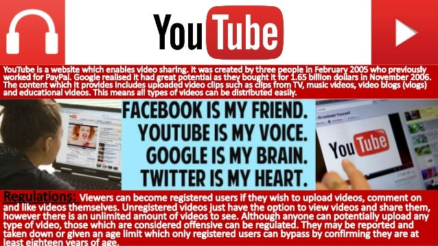 YOUTUBE, GOOGLE, AND THE RISE OF INTERNET VIDEO KELLOGG SCHOOL OF MANAGEMENT CASE STUDY KEL40