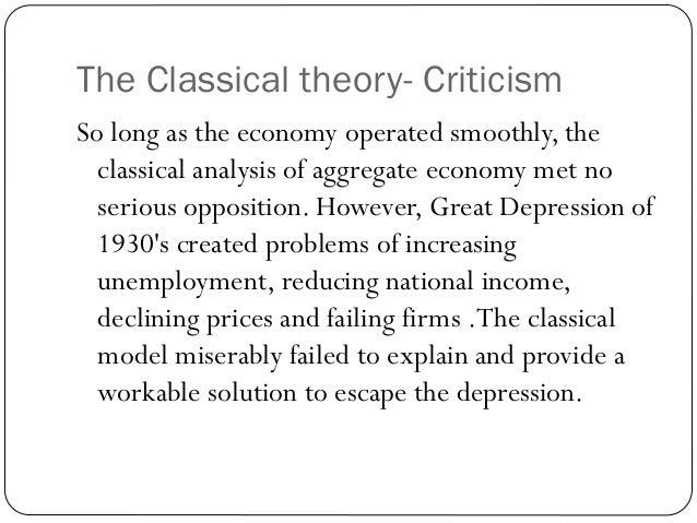 keynesian theory of income determination pdf