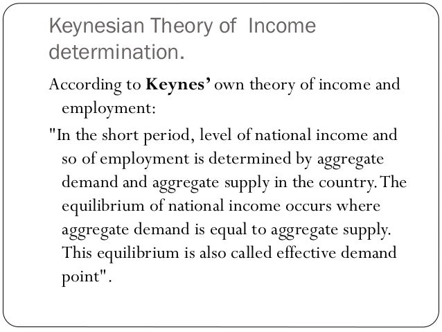 """keynesian theory In 1935, john maynard keynes wrote to george bernard shaw: """"i believe myself to be writing a book on economic theory which will largely revolutionize – not, i suppose, at once but in the course of the next ten years – the way the world thinks about its economic problems"""" and, indeed, keynes ."""