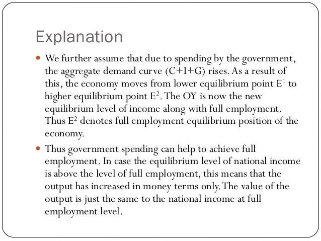 """the simple keynesian theory of income Keynesian theory holds that unemployment is the normal state of the economy   this reflects the """"simple circular-flow model,"""" that had firms employing all the   for example, imagine the prevailing salary is $100,000 a year, and firms have."""