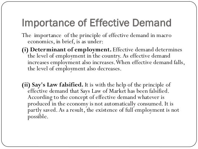 keynes theory of income and employment Four main contributions of his theory, according to keynes - effective demand  implicit in multiplier - increase in income = (consumption.