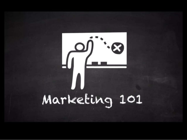 Marketing 101 - Define Marketing