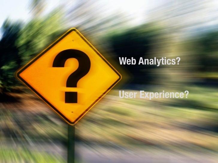 Marrying Web Analytics and User Experience Slide 2