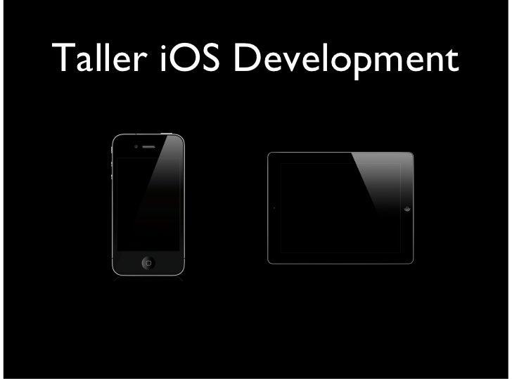Taller iOS Development