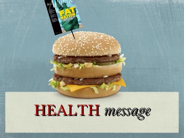 HEALTH  message