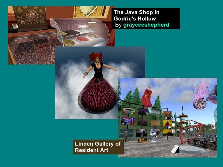 The Java Shop in Godric's Hollow   By  grayceeshepherd Linden Gallery of Resident Art