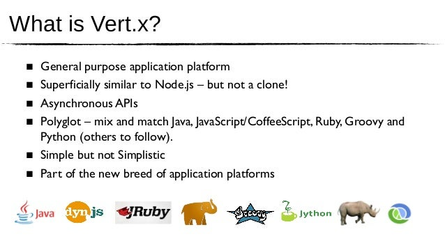 Vert x keynote for EclipseCon 2013