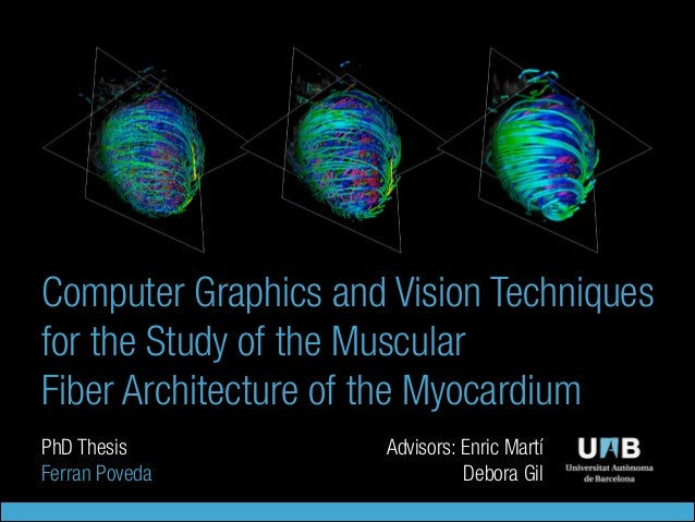 Computer vision phd thesis
