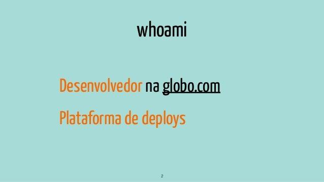 Containers na Globo.com - Passado, Presente e Futuro Slide 2