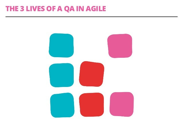 THE 3 LIVES OF A QA IN AGILE
