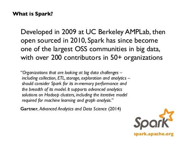 Big Data Everywhere Chicago: Apache Spark Plus Many Other Frameworks -- How Spark Fits Into the Big Data Landscape (Databricks) Slide 3