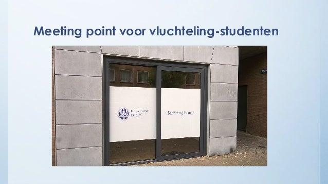 Meeting point voor vluchteling-studenten