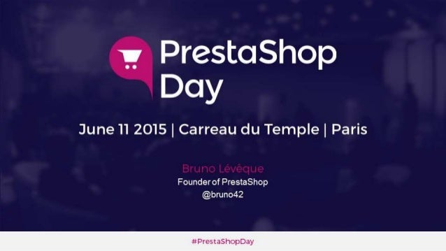 "PrestaShop Keynote ""WeCommerce is better e-commerce"" By Bruno Lévêque"