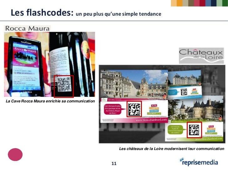 Les flashcodes: un peu plus qu'une simple tendanceLa Cave Rocca Maura enrichie sa communication                           ...