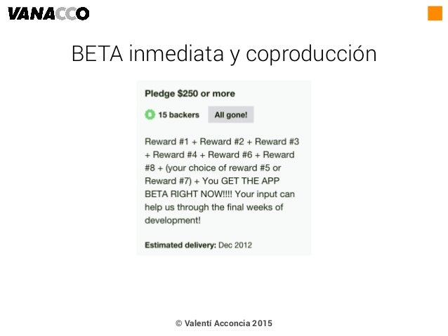 © Valentí Acconcia 2015 BETA inmediata y coproducción