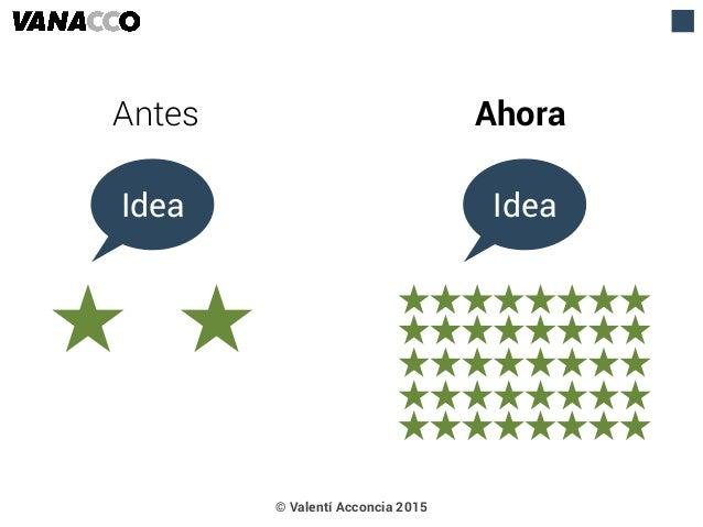 Antes Ahora Idea Idea © Valentí Acconcia 2015