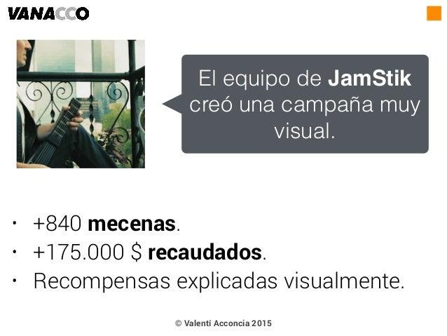 • +840 mecenas. • +175.000 $ recaudados. • Recompensas explicadas visualmente. El equipo de JamStik creó una campaña muy v...