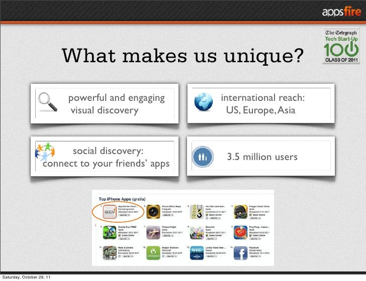 What makes us unique?                           powerful and engaging   international reach:                           vis...