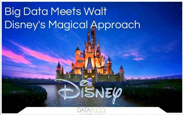 Big Data Meets Walt Disney's Magical Approach