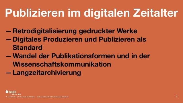 Publizieren im digitalen Zeitalter —Retrodigitalisierung gedruckter Werke —Digitales Produzieren und Publizieren als Stand...