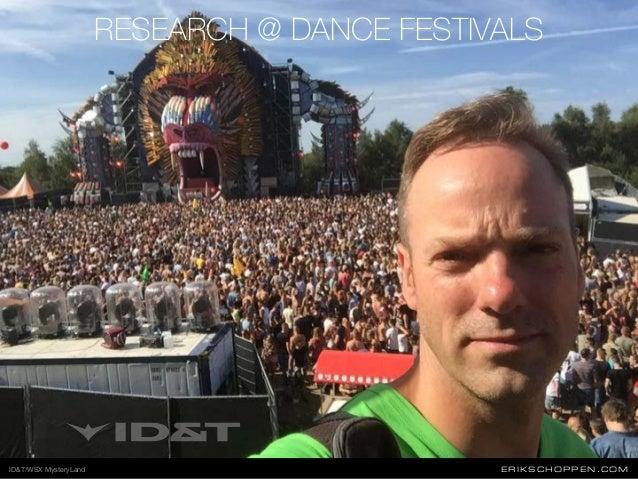 ERIKSCHOPPEN.COM RESEARCH @ DANCE FESTIVALS ID&T/WSX MysteryLand