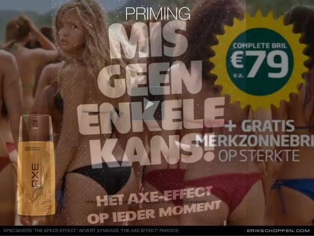 ERIKSCHOPPEN.COMSPECSAVERS 'THE SPECS EFFECT' ADVERT (LYNX/AXE 'THE AXE EFFECT' PARODY) PRIMING