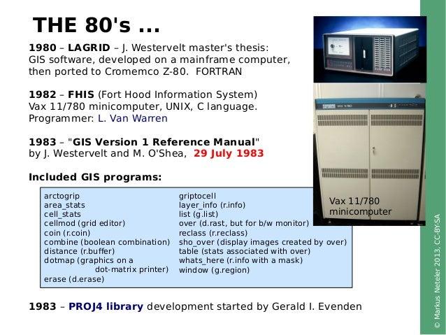 Scaling up globally: 30 years of FOSS4G development. Keynote at FOSS4G-CEE 2013, Romania Slide 3