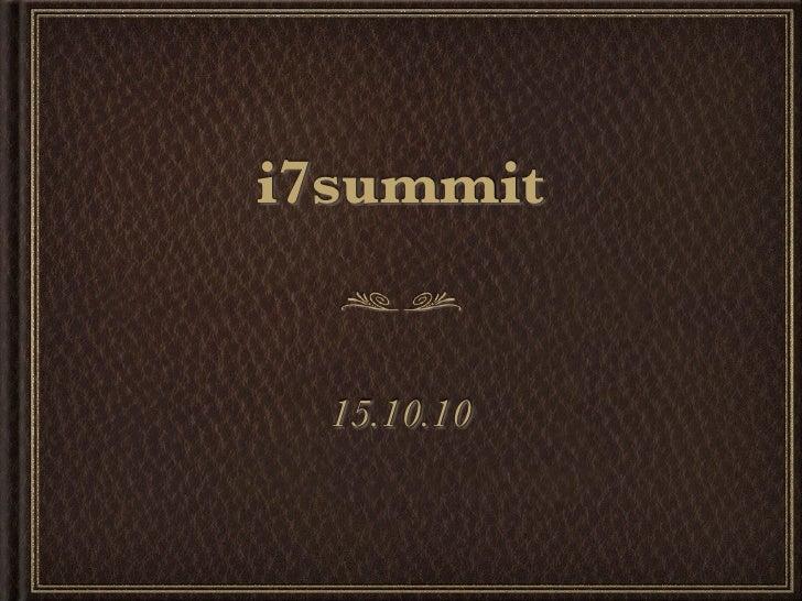 i7summit     15.10.10