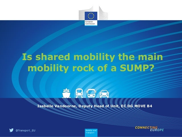 Isabelle Vandoorne Is Shared Mobility The Main Mobility Rock Of A S