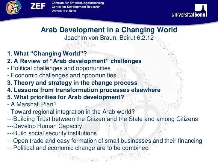 Zentrum für Entwicklungsforschung        ZEF     Center for Development Research                University of Bonn        ...
