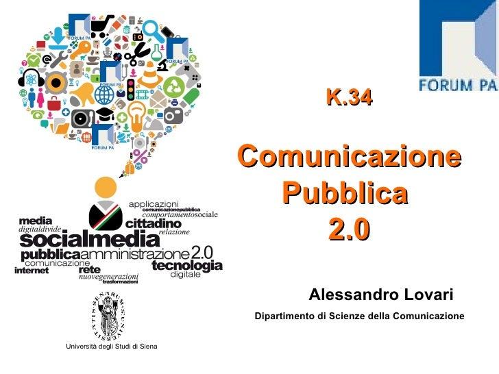 K.34                                  Comunicazione                                    Pubblica                           ...