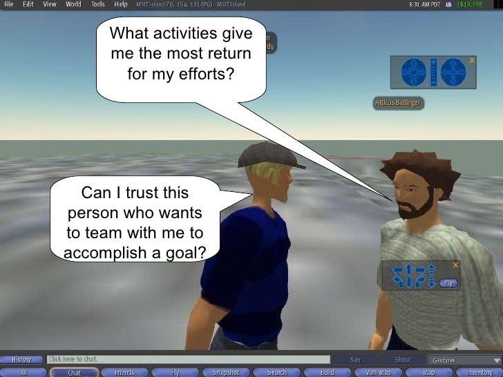 What activities give me the most return for my efforts? Can I trust this person who wants to team with me to accomplish a ...