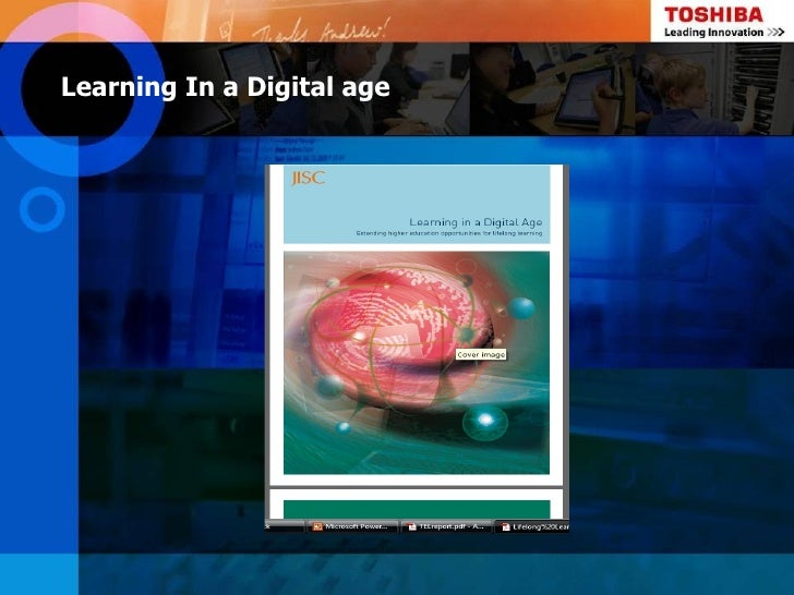 Learning In a Digital age